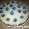 Vanília pudingos szedres süti