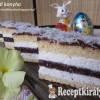 Tejszínes kókuszos sütemény