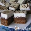 Fehér csokis habos szelet