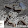 Kakaós, vaníliás krémes sütemény