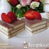 Tejfölös-kekszes sütemény