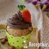 Gesztenyés muffin csokis krémmel - paleo