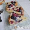 Erdei gyümölcsös hamis sajttorta