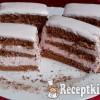 Eperhabos csokoládés szelet
