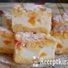 Joghurtos pite trópusi gyümölcsökkel