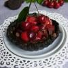 Cseresznyés-csokis mini pite sütés nélkül