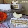 Sütés nélküli almatorta