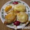 Csirkemell gyümölccsel