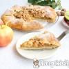 Rusztikus almás pite