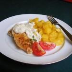 Joghurtos csirkemell hagymás-tejszínes szósszal 2