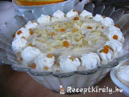 Oroszkrém desszert
