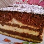 Vajkrémes csokis süti 1