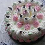 Aszalt szilvás habos torta 3
