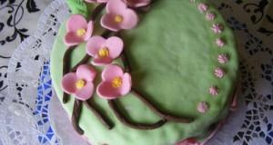 Cseresznyevirágos torta