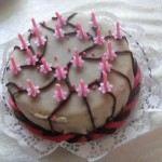 Marcipános puncs torta 3