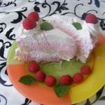 Sütés nélküli málna torta 3