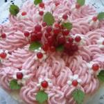 Sütés nélküli ribizli torta 1