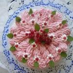 Sütés nélküli ribizli torta 2