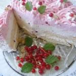 Sütés nélküli ribizli torta 3