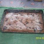 Almás gyömbéres kakaós meggyes piskóta 1