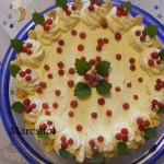 Sütés nélküli rizses ribizlis torta 1