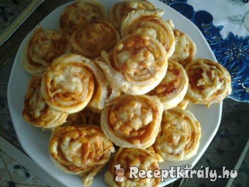 Pizzás csiga II