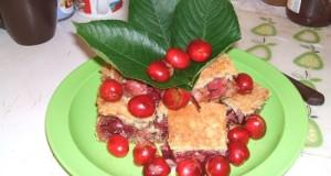 Cseresznyés és meggyes lepény