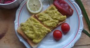 Chilis avokádókrém