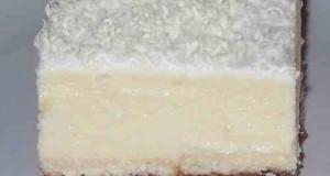 Szilvás krémes sütés nélkül