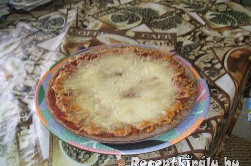 Pizza házilag