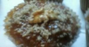Céklás-diós muffin