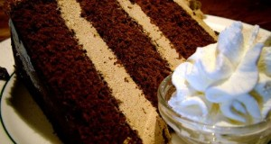 Csokoládétorta kávékrémmel