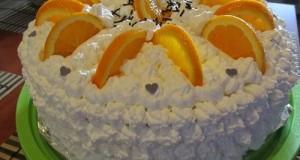 Narancsos Oroszkrém torta III