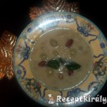 Fehérboros tejszínes szőlőkrémleves 2
