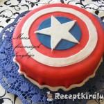Amerika kapitány torta 1