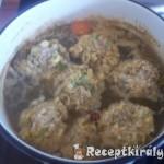 Erdélyi csorba csirkemájas húsgombóccal 1