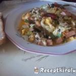 Mediterrán omlett gazdagon 1