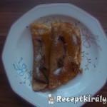 Nutellás mézes palacsinta 1