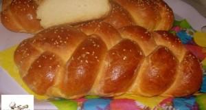 Sós-fonott kalács Húsvétra
