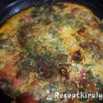 Spenótos frittata 1