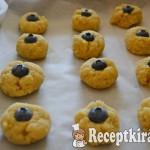 Citromos áfonyás keksz - paleo 2