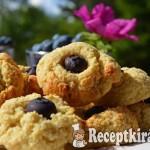Citromos áfonyás keksz - paleo 3