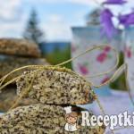 Citromos mákos keksz - paleo 2
