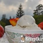 Főzött vaníliás kókusz fagyi-paleo