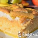 Pudingos habos rácsos almás pite 2