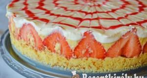 Epres vaníliakrémes torta – paleo