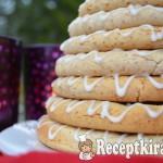 Kransekake, norvég ünnepi sütemény - paleo 2