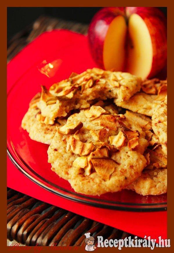 Almás keksz