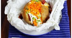 Jacket potato, azaz héjában sült krumpli