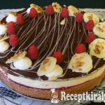 Málnás csokimousse torta-2